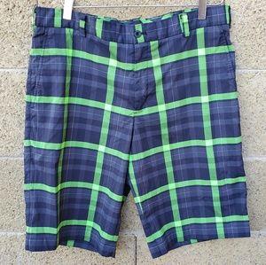 Nike Golf Plaid Shorts